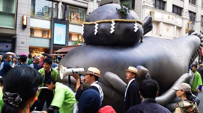 日本橋架橋百年祭パレード