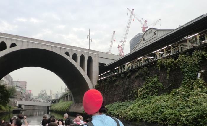 日本橋発神田川クルーズ  御茶ノ水駅
